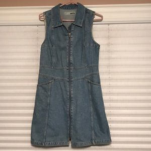 Topshop Denim Dress